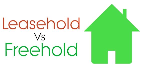 Leasehold vs. freehold.